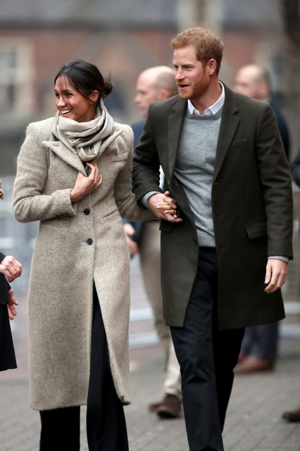 Meghan Markle is casual chic!